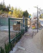 Ankara Yana Kayar Giriş Bahçe Kapısı