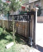 Ankara Otomatik Kumandalı Yana Kayar Bahçe Kapısı