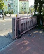 Ankara Kumandalı Yana Kayar Bahçe Kapısı