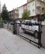 Ankara Sincan Yana Kayar Bahçe Kapısı