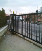 Ankara Mamak Yana Kayar Bahçe Kapısı