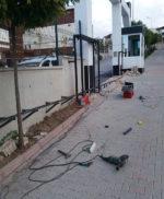 Ankara Ostim Yana Kayar Bahçe Kapısı Tamir