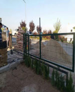Ankara Site Yana Kayar Bahçe Kapısı